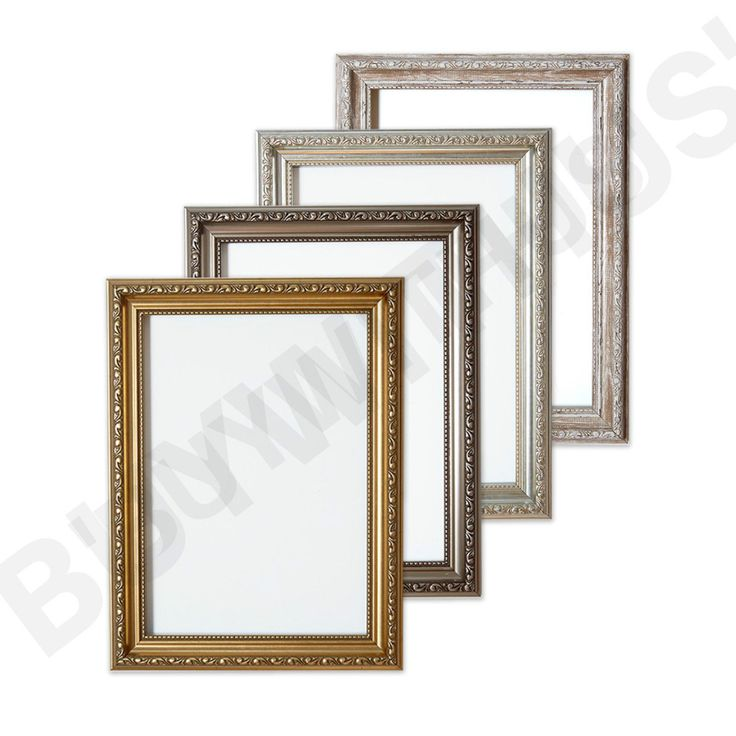 Ornate Shabby Chic Picture frame photo frame poster frame silver Gold or Walnut in Home, Furniture & DIY, Home Decor, Photo & Picture Frames | eBay