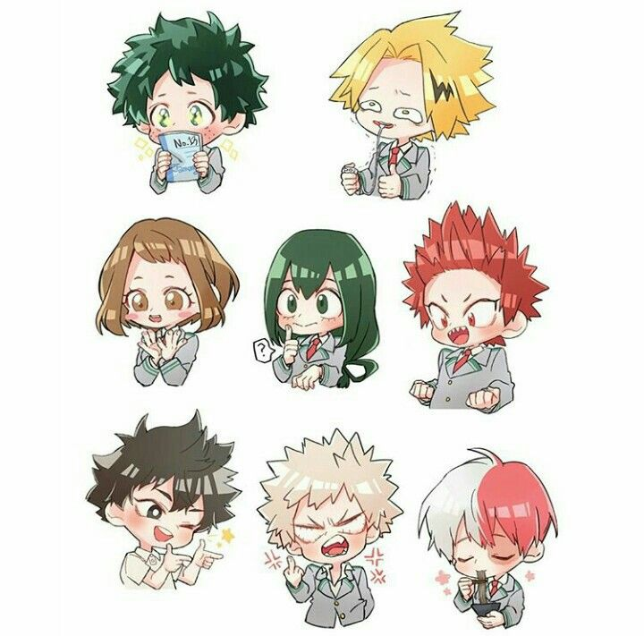Pin By Peach On Boku No Hero Academia Chibi Characters Anime Chibi Chibi