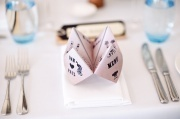 Wedding menu ! So cute!