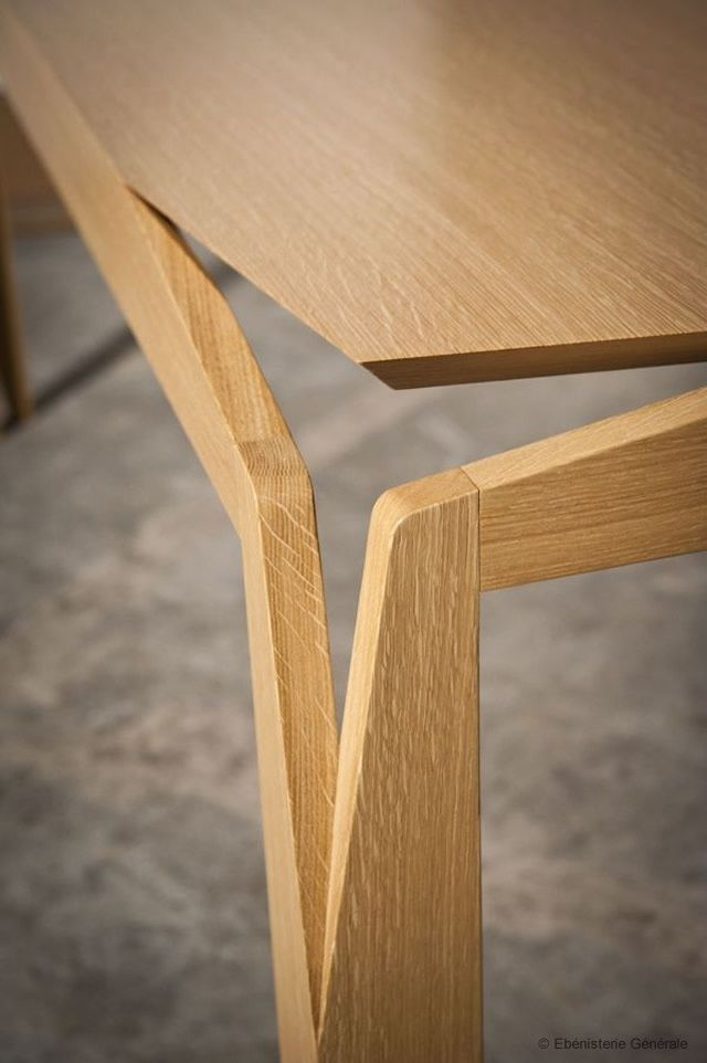 17 best images about unique wood joinings on pinterest for Interesting table legs