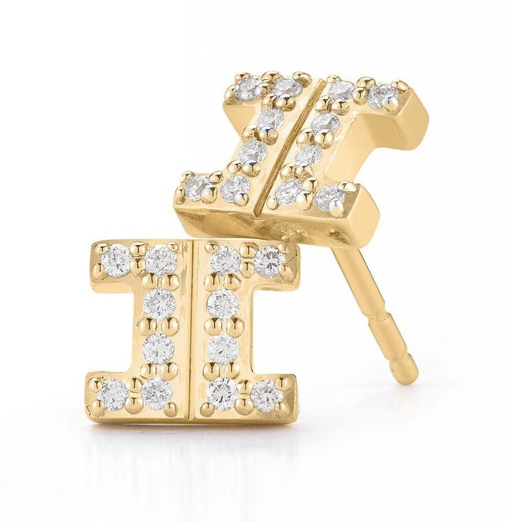 Ivanka Trump Metropolis stud earrings