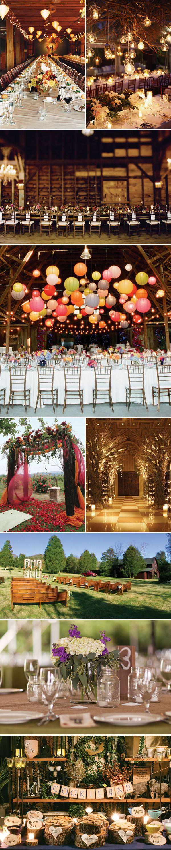 ウェディングトレンド2015: カントリー風ウェディング rustic #wedding decor inspiration