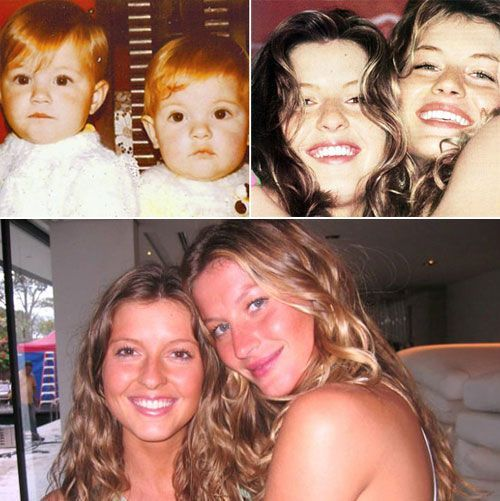 Gisele & Patricia Bündchen [b July 20, 1980] Gisele is the highest paid supermodel in the world and Patricia is her manager.