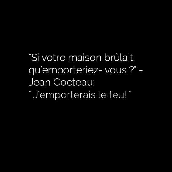 Jean Cocteau •