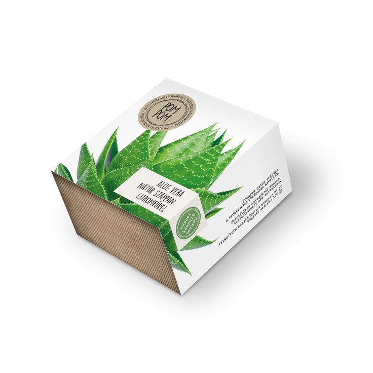Aloe vera natúr szappan citromfűvel * Aloe vera natural soap with lemongrass