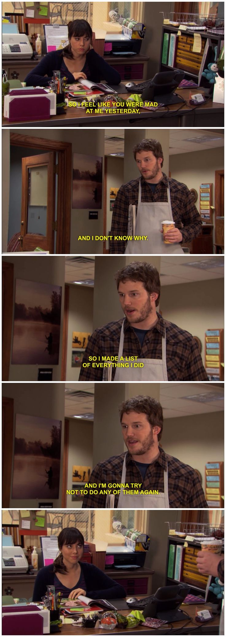 Parks and Rec #scene