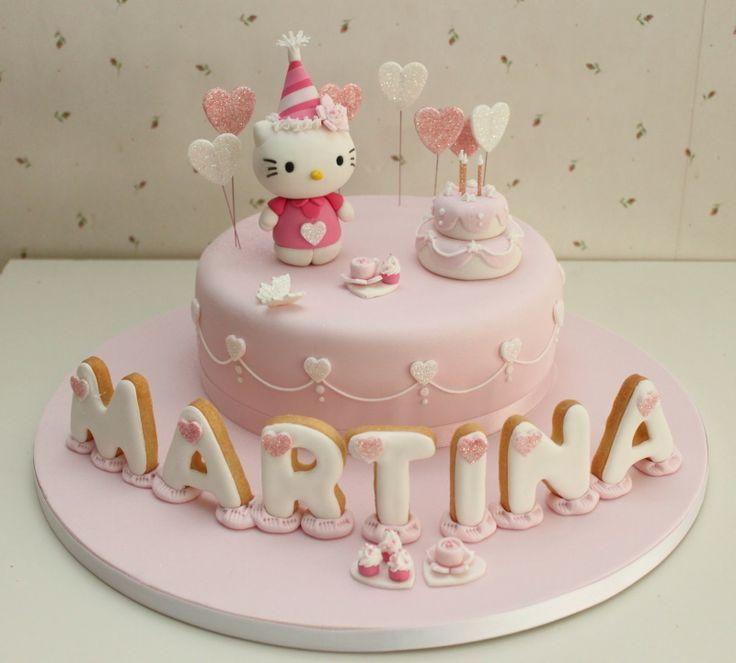 Atelier Sucrème: Pastel Hello Kitty cumpleaños
