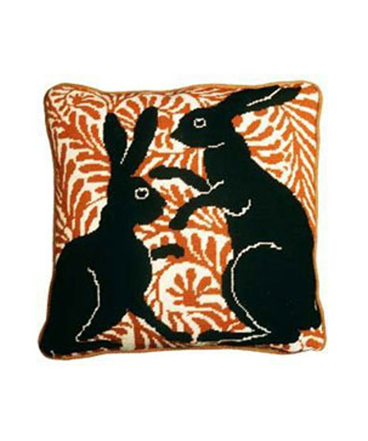 Boxing Hares Tapestry Kit