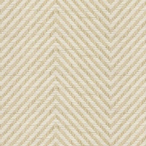 Erin Line Herringbone - Natural - Textures - Wallcovering - Products - Ralph Lauren Home - RalphLaurenHome.com