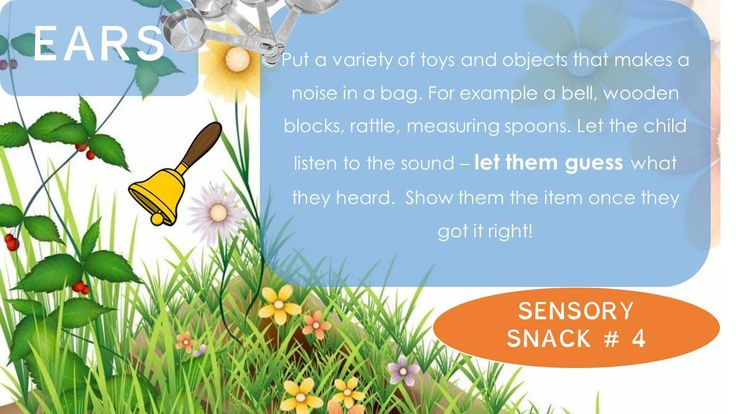 Sensory Snack - What can you hear? #sensoryedition, #informationsnack, #occupationaltherapy