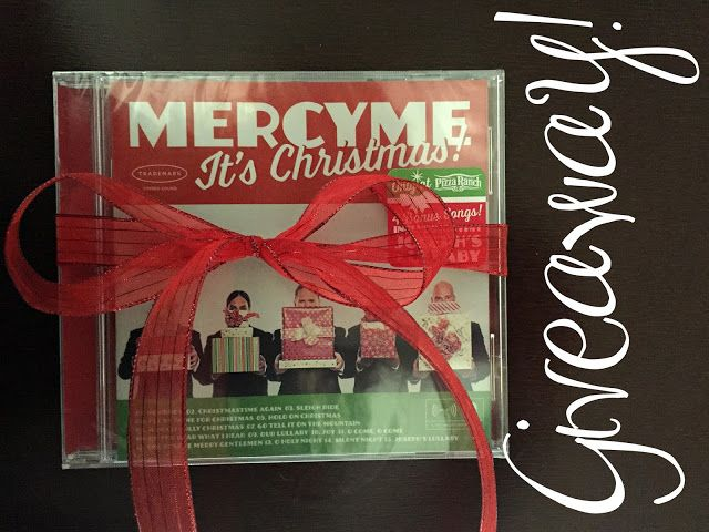 Mercy Me It's Christmas Giveaway