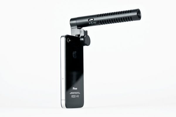 The iPhone Boom Mic - The Photojojo Store!: Apples Iphone, Apples Technology, Iphone Boom, Boom Microphone, Apples Stores Products Iphone, Iphoneipad Gears, Iphone Videos, Iphone Microphone, Cameras Accessories