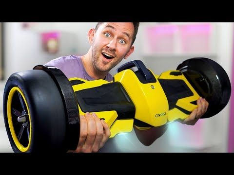 F1 Racing Hoverboard?! | DOPE or NOPE - YouTube