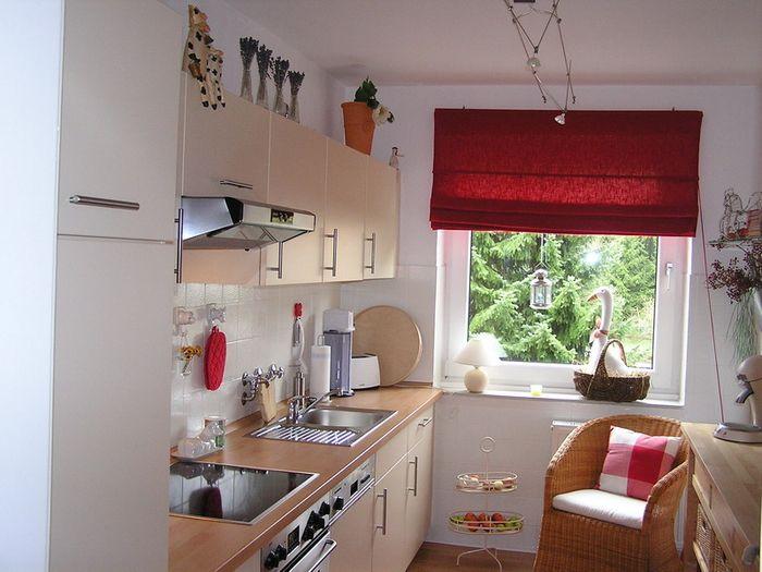 узкая кухня 8м2