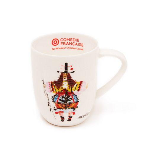 L'original #mug illustré d'un dessin de Monsieur Christian Lacroix pour la Comédie Française. Prix 25 euros TTC #theatre #ComedieFrançaise