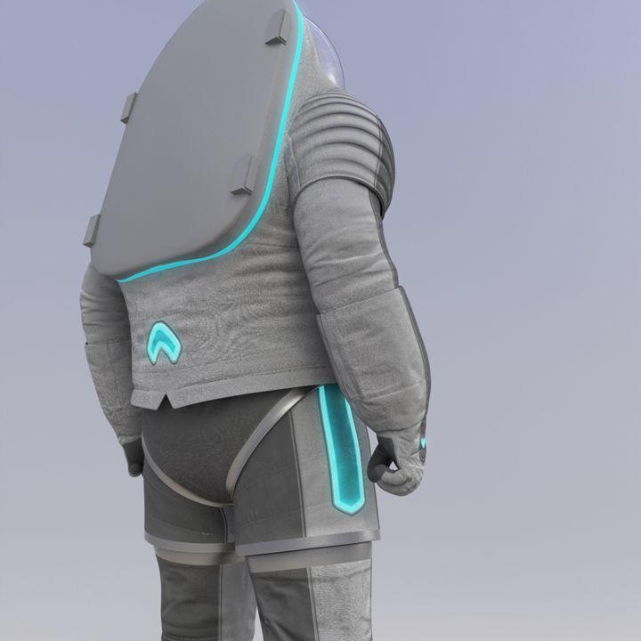 投票で決まった次世代宇宙服、デザインは「トロン」風 « WIRED.jp