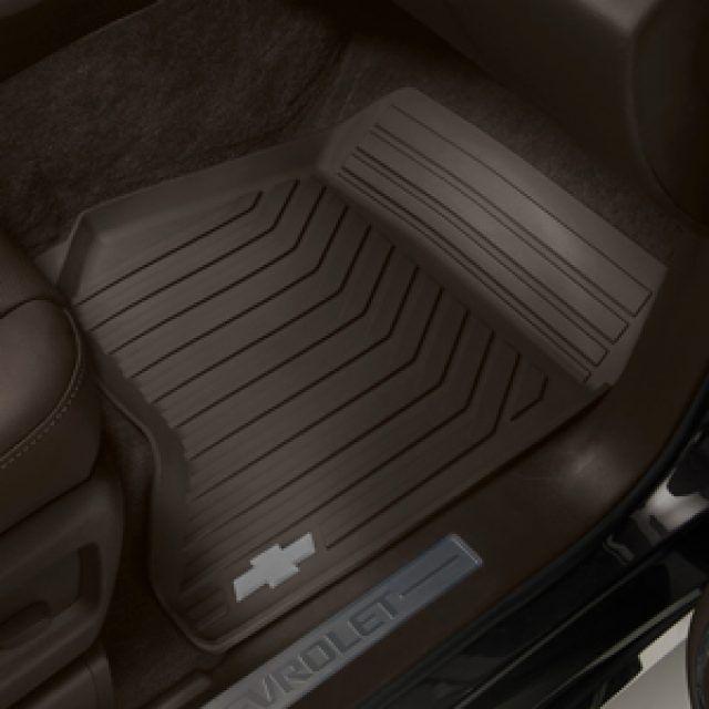 2016 Suburban Floor Mats Premium All Weather Front Cocoa W