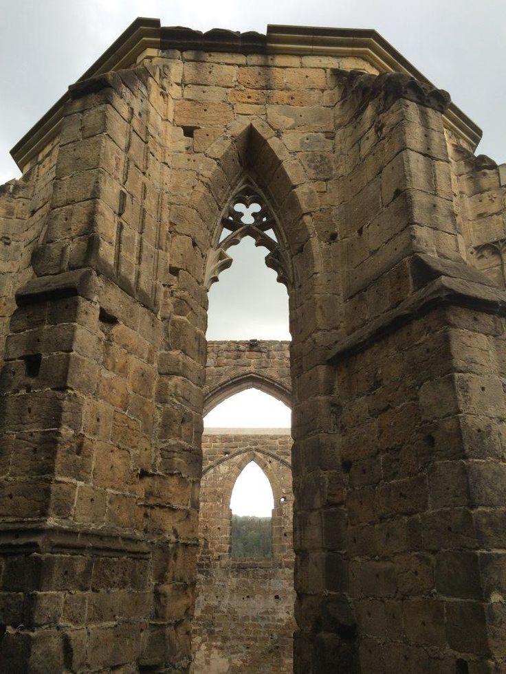 Windows of Oybin Castle