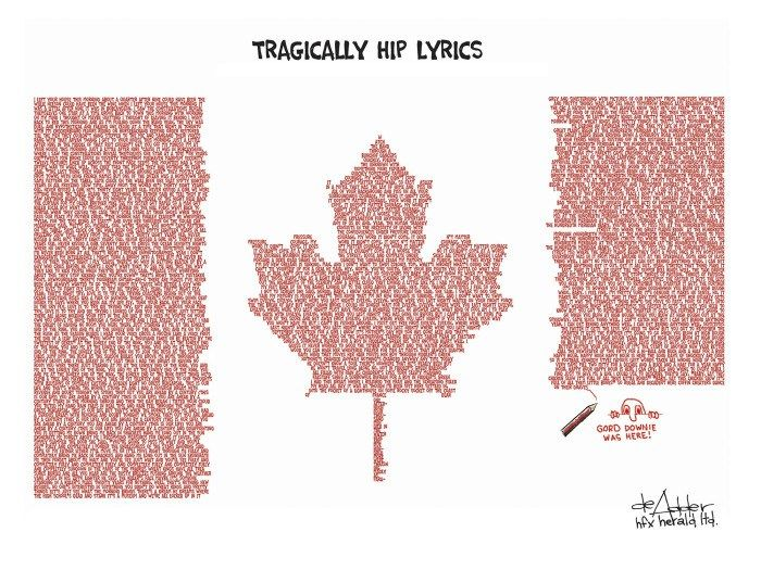Tragically Hip lyrics - deAdder                                                                                                                                                                                 More