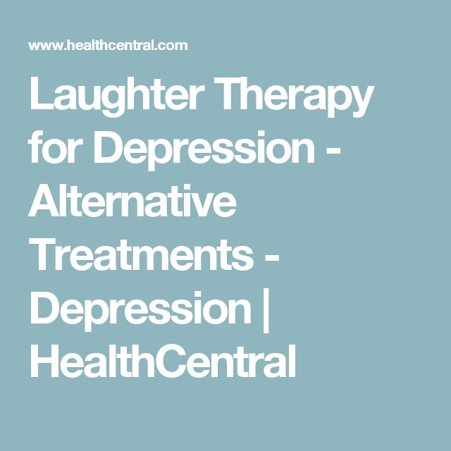 Laughter Therapy for Depression - Alternative Treatments - Depression | HealthCentral
