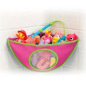 Organizador-de-Brinquedos-de-Banho-Rosa