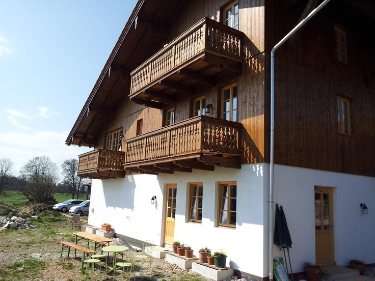 Außenansicht (Balkon links)