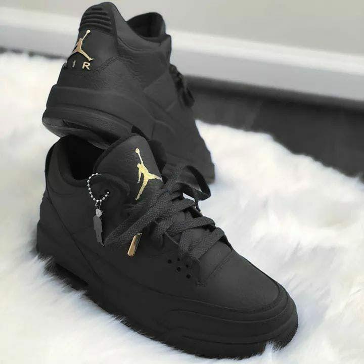 Nike Jordan black | Jordan shoes girls