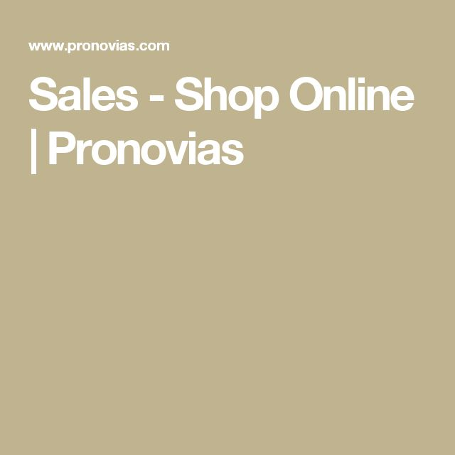 Sales - Shop Online | Pronovias