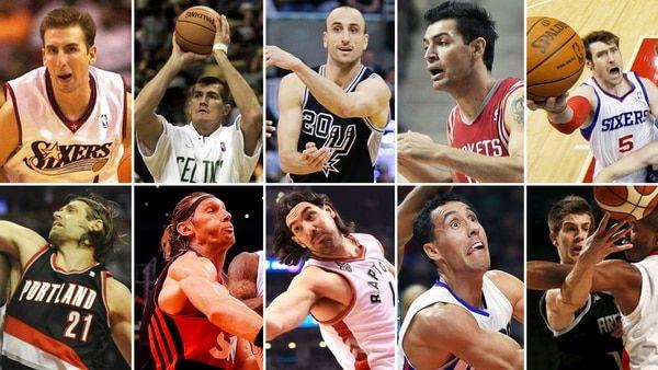 Los 10 argentinos que jugaron en la NBA - Infobae