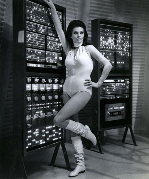 Anita Ekberg in'Way… Way Out', 1966.