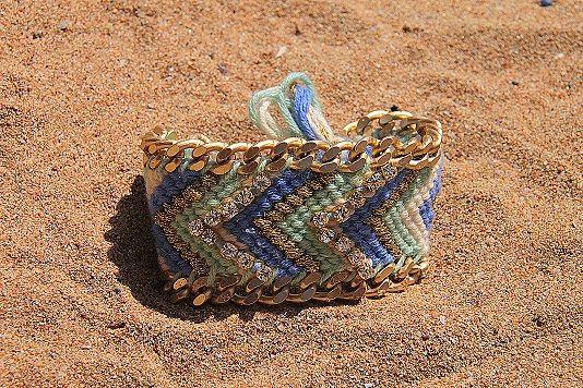 Embellished Friendship bracelet  https://www.facebook.com/LOTUSbyM