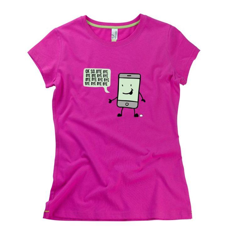 Ok So, Bye Bye Bye Ladies T-Shirt by Hairy Baby