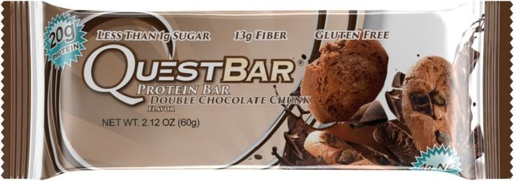 Quest Protein Bar Double Chocolate Chunk Flavor 2.12 oz