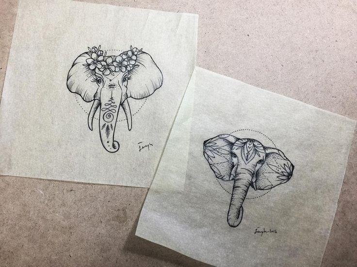 Elephant flower