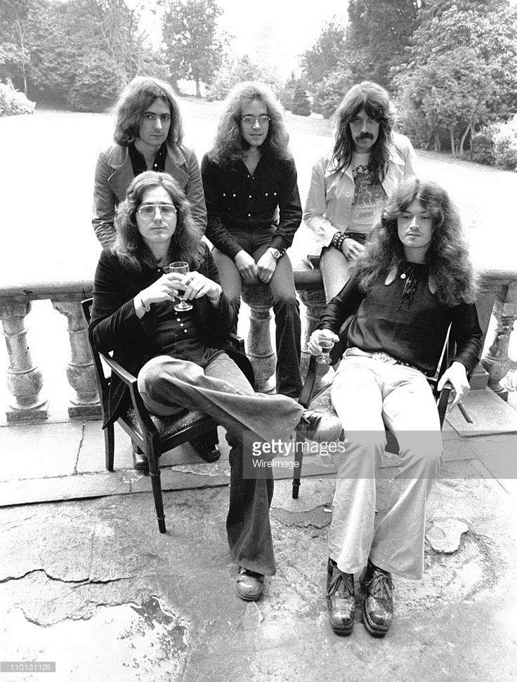Deep Purple File Photos por Chris Walter en Getty Images, 1973
