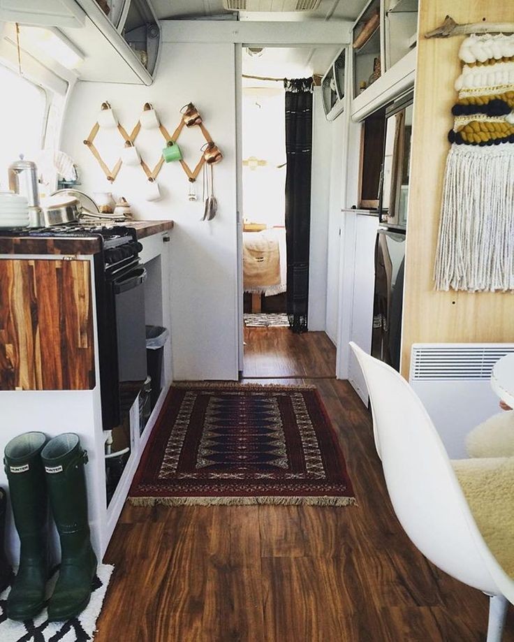 A place for everythingThis is the beautiful renovated interior of a 1973 Airstream owned by @airstream_norskforce by airstream_dreams