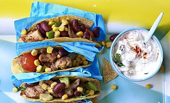 4 mexicaanse maaltijden voor kinderen