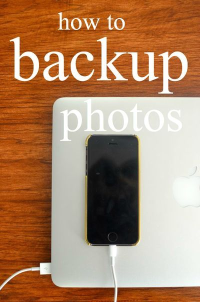 backup your photos, backup your life