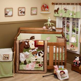 Farm Babies Bedding by Nojo - Farm Baby Crib Bedding - 7020095  http://www.babysupermall.com/main/products/cci/cci7020095.html