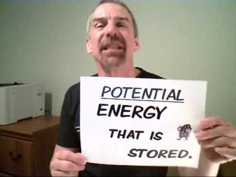 """The ENERGY Song - Mr. Edmonds  - Rock with """"That's the Way -  I Like It"""" music theme ! First Law of Thermodynamics (and a recap of Kinetic and Potential Energy) CC Cycle 2 Week 19"""