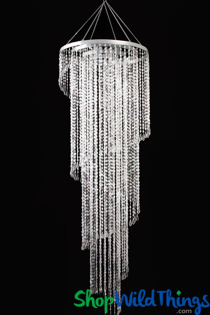72 best products i love shopwildthings images on pinterest chandelier mirabella crystal 4 tier 6 feet x 2 feet arubaitofo Image collections