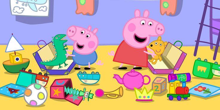 Grazie, Peppa Pig