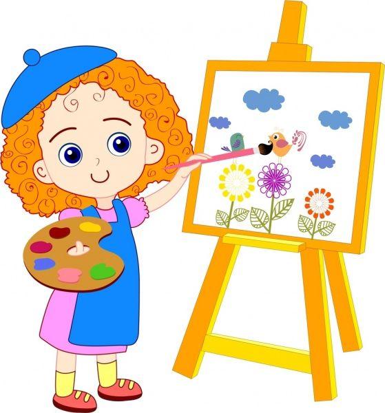 Юный художник картинки для презентации для