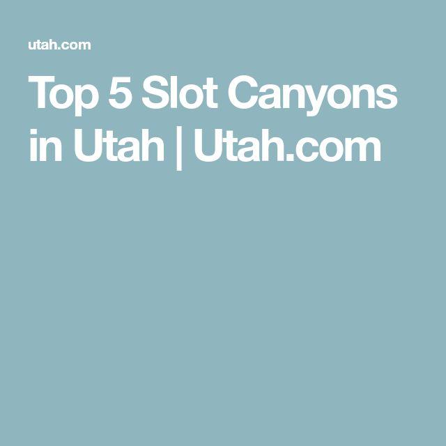 Top 5 Slot Canyons in Utah | Utah.com