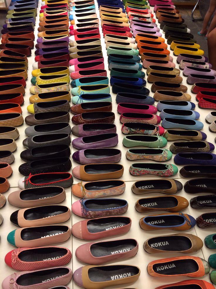 Une boutique de chaussures made in Barcelona extraordinaire ! Un vrai paradis pour les femmes !