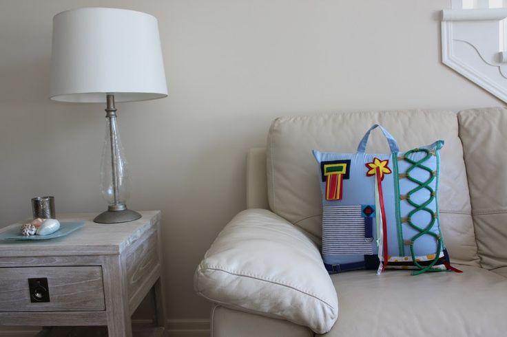 Dementia activity pillows