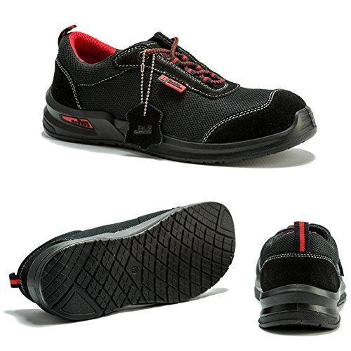 Oferta: 30€ Dto: -58%. Comprar Ofertas de Botas Para Hombre De Seguridad Puntera De Acero Zapatos De Trabajo Tobillo Suela De Protección Media Unisex-adulto S1P CE apr barato. ¡Mira las ofertas!