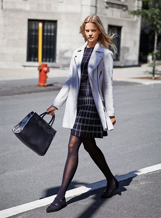 #light#coat#checkered#look
