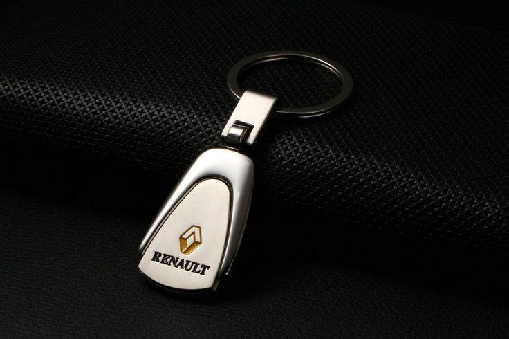 Renault Duster megane 2 Laguna 2 Car Key Ring Key Chain Keychain Renault Key Fob Car Badge Emblem Free Shipping