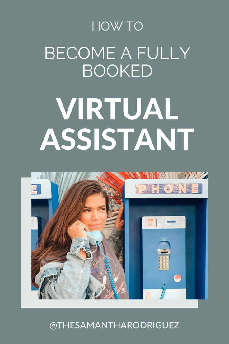 How to a fully booked virtual assistant Virtual